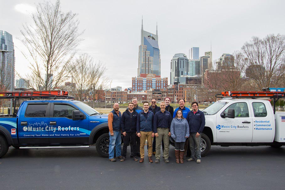 Solar Company Photo In Front Of The City Of Nashville Residential Solar Roofing Nashville Music City Solar Solutions 2306 Eugenia Ave Suite A Nashville Tn 37211 (615) 692 1602